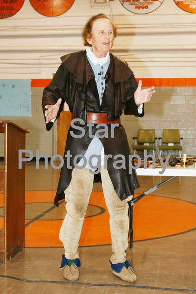 Photo by Eveleigh Stewart<br /> Grant Hardin as Daniel Boone