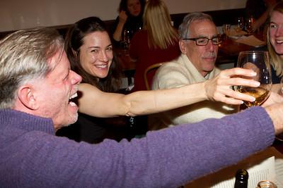 James von Rittmann '95, Corinna Knight '93 (President of Dartmouth Club of Los Angeles), Alan Gaynor '67, and Whitney Flynn '07