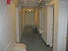 The corridor at Woodward Hall. The door to my room (1959-61) is on the far right.