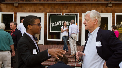 Clark Moore '13 gets to know John Colwell '55.