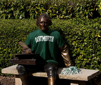 The event was presided over by this famous founding father... who shed his Penn alma mater for Dartmouth.
