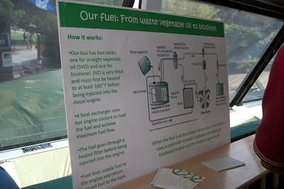 The BGB uses biodiesel and vegetable oil from restaurants as fuel.