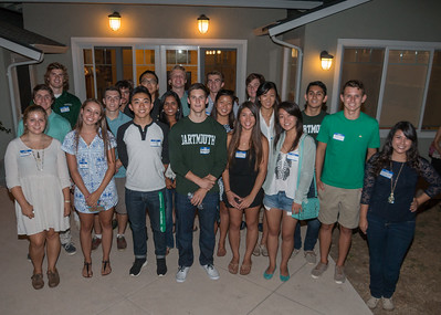 Members of the Dartmouth College Class of 2019.