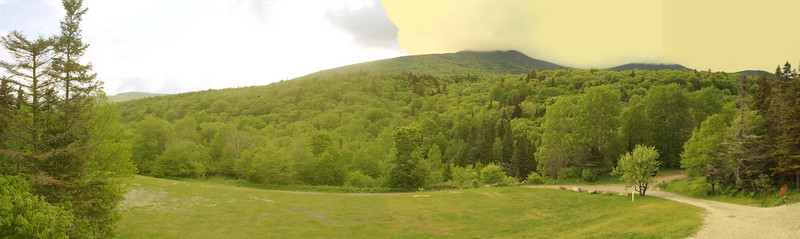 Day 2 - There's a great view of Mount Moosilauke from the lodge