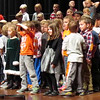 "Dassel Elementary first- and second-graders sing ""We Wish You A Merry Christmas"" during Tuesday's ""Sounds of the Season"" concert."