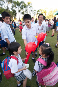 Varee School Chiangmai's Day Of Pride 2012.