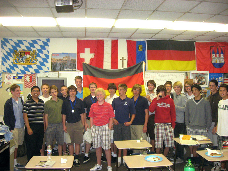 One of final meetings/luncheons of the  2008-2009 year in P308. Way to go, Cubs! May 20th, 2009.