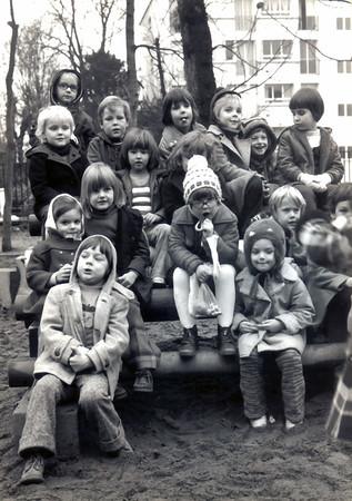 Kindergarten der Deutschen Schule Paris, Ende 1973