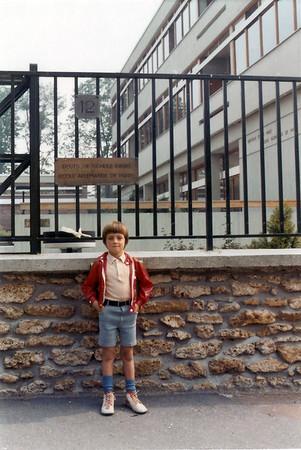 Einschulung in die Deutsche Schule Paris (3. Sep 1972)