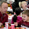 MIKE McMAHON - MMcMAHON@DIGITALFIRSTMEDIA.COM, The Division Street held its first Kindergarten Sweetheart Breakfast. Every student sent an invitation to one adult sweetheart  to join them for breakfast, at the Division Street School in Saratoga Springs,  Thursday February 12, 2015