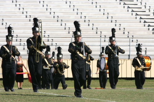 Dixie Marching Band Championship - Booneville, Mississippi