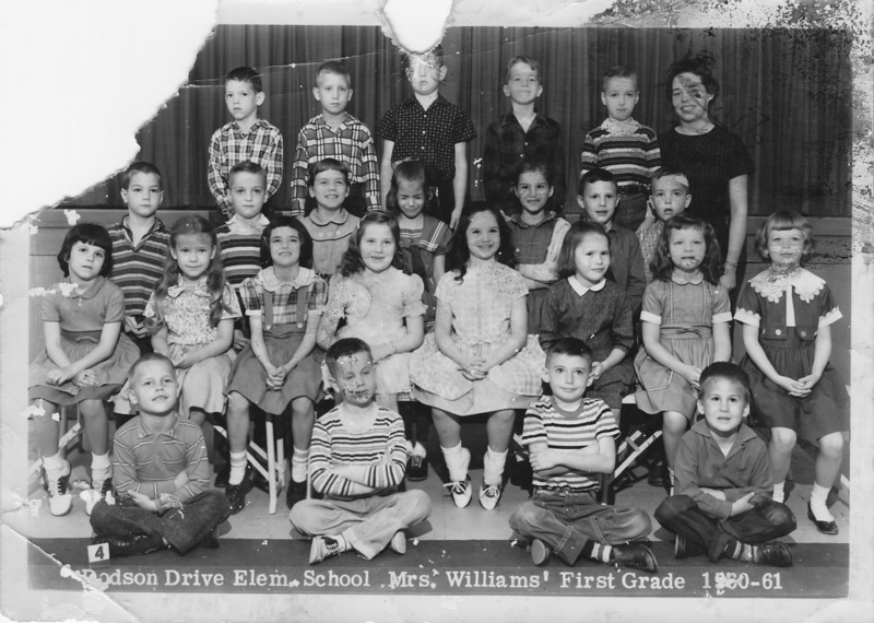 Dodson Drive Elementary School, East Point, Georgia<br /> Mrs. Williams' First Grade Class (1960-1961)