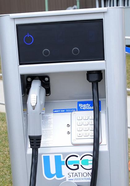 ELECTRIC CAR CHARGING STATION, ST. AUGUSTINE PREP, RICHLAND NJ.  03/15/13