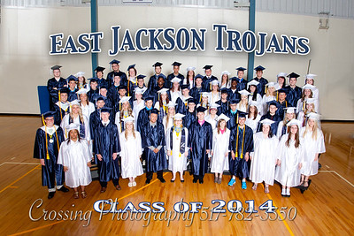 East Jackson High School Graduation 2014