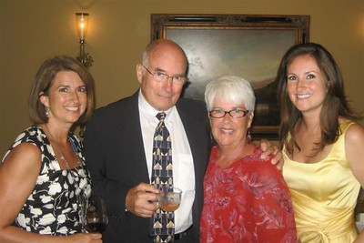 It's Mick McBride, '55 and family. Here's another one!!! The guy cleans up pretty well!!!!!!!!!!!!!!!! Ha! Ha!