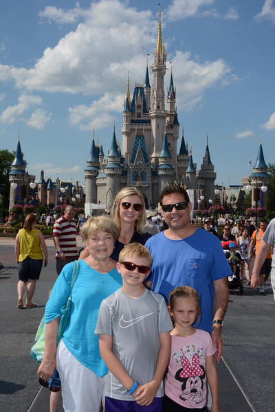 We went to Disney World