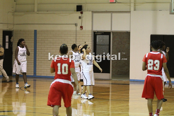EastSide vs Travis Girls Bball 01-10-12