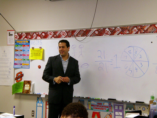 Educator for a day 2008
