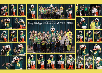 """Thank you for your donation to Edy Ridge! 100% of profits will be given to the PAC to support your classrooms. Use coupon code """"Mascots"""" to get free standard shipping on purchase of two or more prints. Offer expires March 31, 2013."""