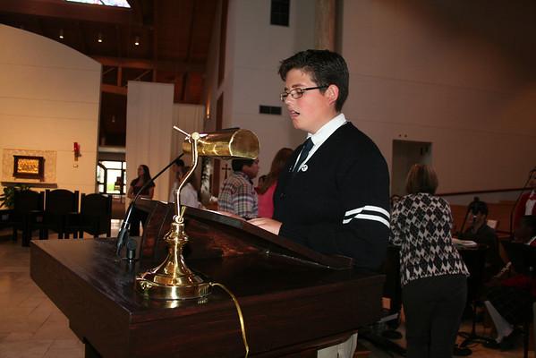 Eighth Grade Mass 2014