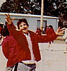 Ricky at elementary school recess (Resurrection of Our Lord, New Orleans)