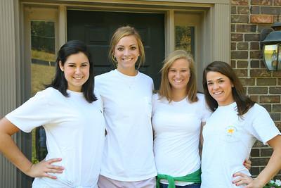 Emily's Auburn Friends 2008