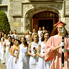 Mike McMahon - The Record ,Emma Willard School commencement on the 200th anniversary of the founding of the school in Troy , Sunday  May 24,  2014