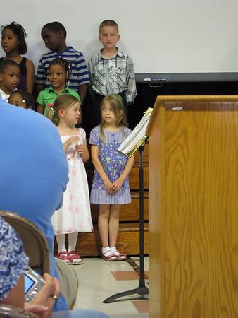 Erin's Kindergarten Concert