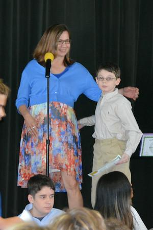 Eton Middel School awards