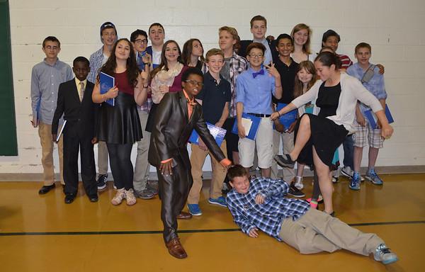 Eton Middle School Awards