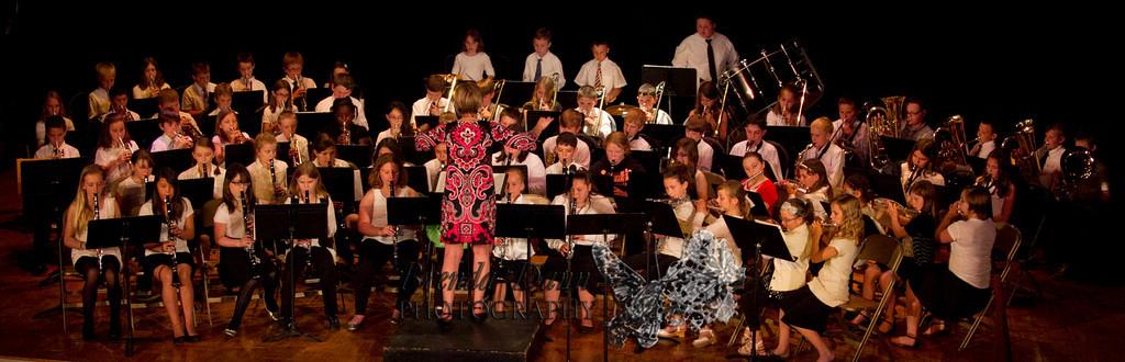 Evan's District Band Concert 6/13/2013