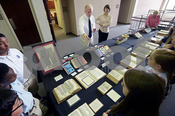 Bible History Display