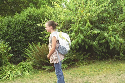 First Day of School 2007, Junior Year and Fifth Grade!