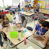 Christine Lay's fifth grade class at Fall Brook Elementary School in Leominster held a Coin War for a Cure, challenging other classes to raise money for the National Multiple Sclerosis Society. The school raised over $3,000. SENTINEL & ENTERPRISE/JOHN LOVE