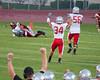 Ferris Football at University.  Final score: Ferris 34, University 7
