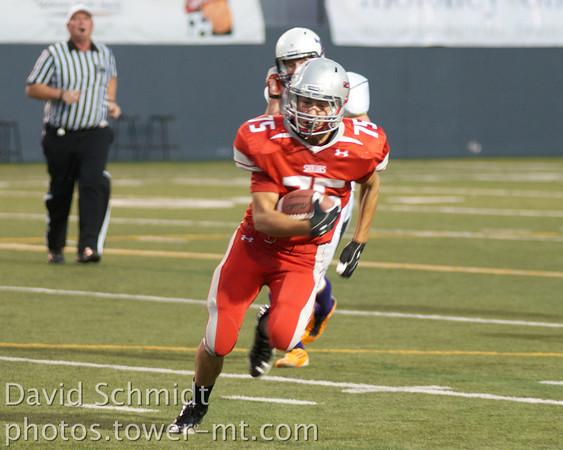 Corey Miller on the run