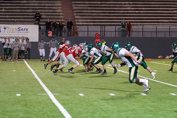 Ferris Football at Joe Albi.  Ferris 42, Shadle 14