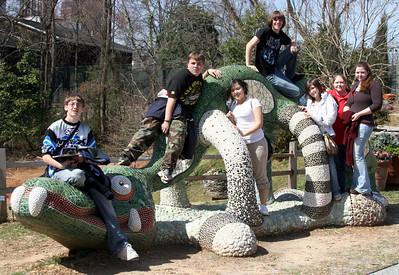 2007 3.06 CHS Botanical Garden Aquarium field trip