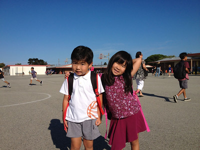 First Day of School 2012-09
