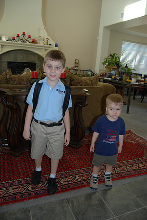 First Day of School 08.2009
