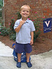 Henry's first day of preschool at Norcross Christian Academy.  He is in the 4 year old class on Tuesdays, Wednesdays, and Thursdays with Ms. Cindy and Ms. Nicole.