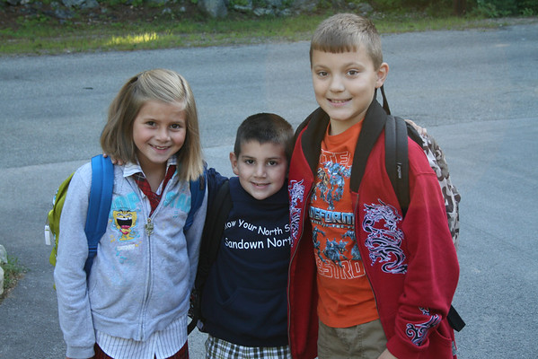 First Day of School 8-31-09