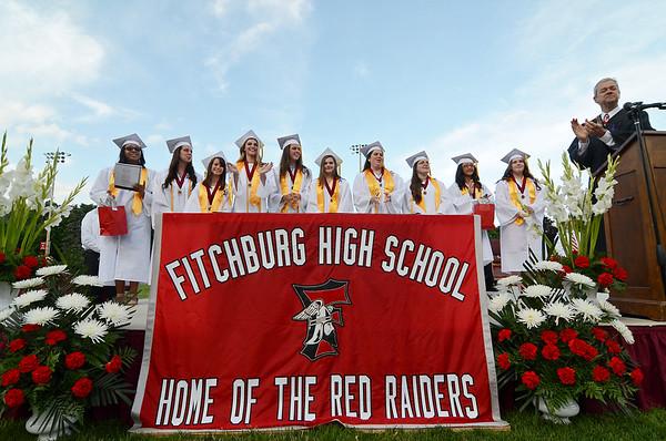 Fitchburg High Graduation 2015
