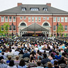 Fitchburg State University held their 120th undergraduate commencement ceremony on Saturday afternoon. SENTINEL & ENTERPRISE / Ashley Green