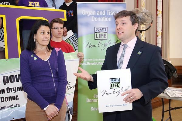 FSU Sigma Pi supports organ donation
