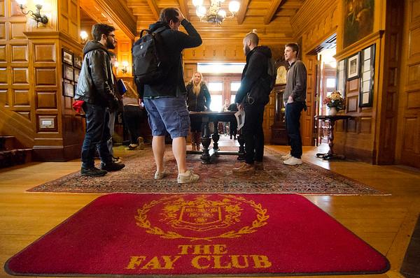 FSU students tour the Fay Club