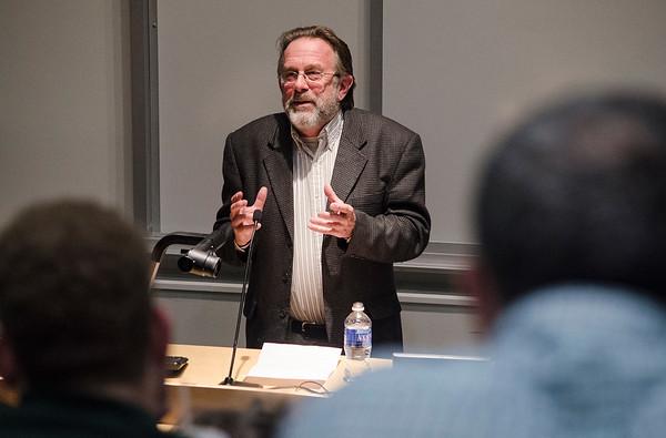 Gregory Gibson gives talk at FSU