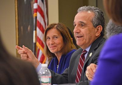On Friday, State Treasurer Deborah Goldberg visits Fitchburg State University roundtable