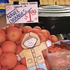 Flat Stanley and super sweet oranges
