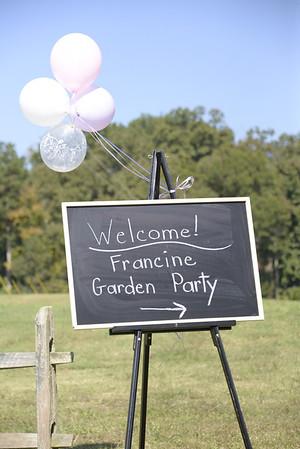 Francine Garden Dedication